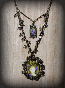 Vineyard Nymph Necklace
